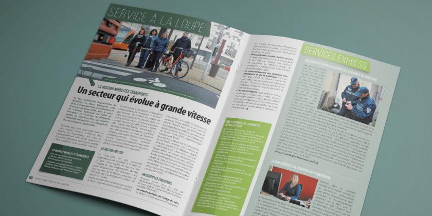 Création de supports éditoriaux & magazines